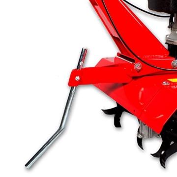 Gartenfräse Ackerfräse Benzin Motorhacke Bodenfräse Kultivator BRAST AF5000 3,8kw (5,2PS) 2 Arbeitsbreiten 36cm / 60cm -